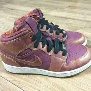 Nike Air Jordan 1 Mid Shoes Youth 4.5Y Womens 6.5